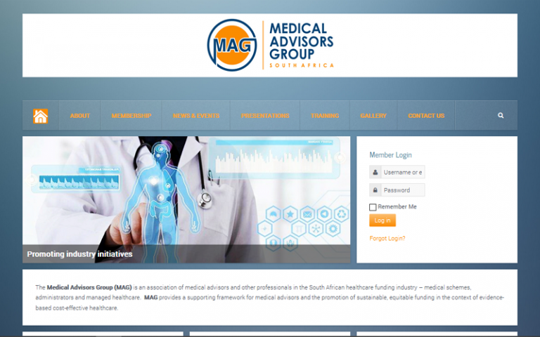 Medical Advisors Group - Joomla web design