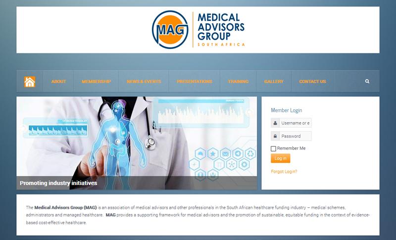 Medical Advisors Group - Joomla web design